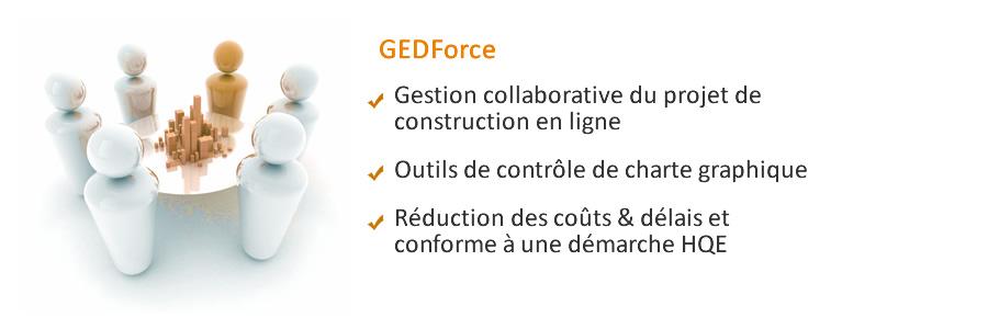 Gestion de projet en ligne GEDForce